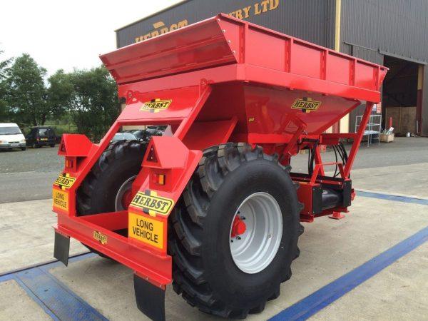 red herbst grain bin