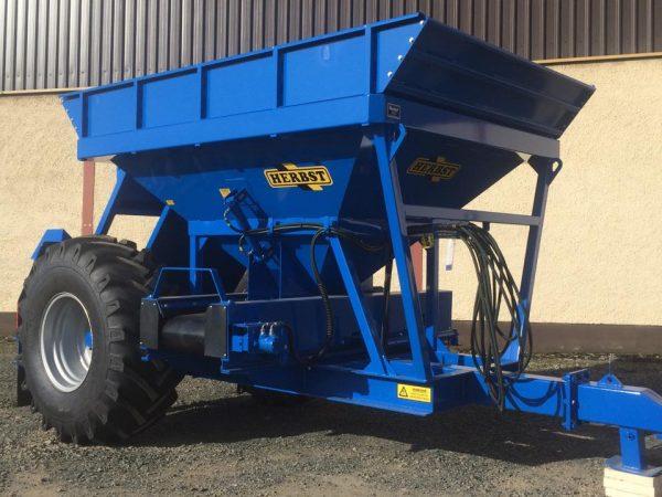 blue herbst grain bin