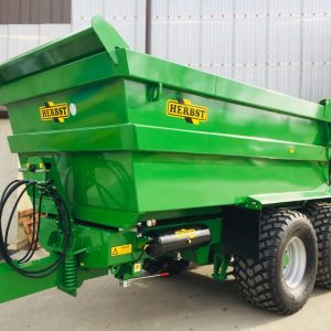 small green tipper