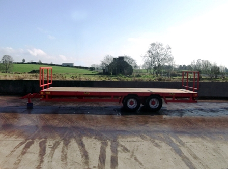 red herbst low loader