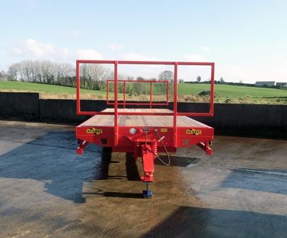 red low loader 2